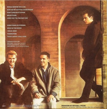 Crowded House Crowded House (1986) 1995 bck